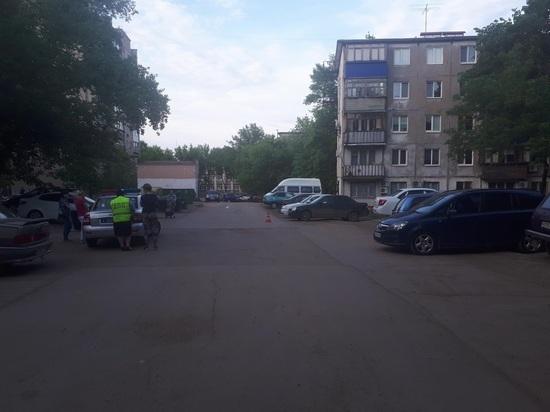 В Новокуйбышевске иномарка сбила 9-летнего мальчика во дворе