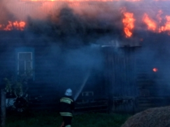 Останки человека обнаружены после пожара в жилом доме села Георгиевское