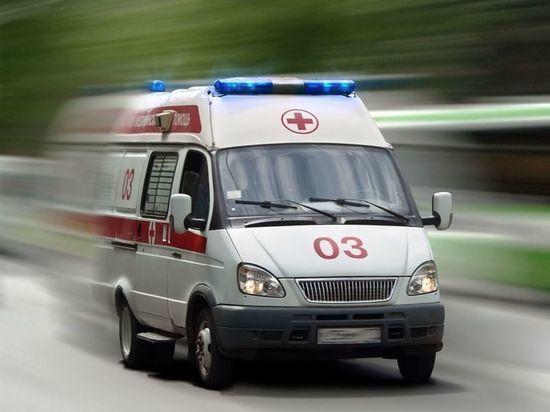 В Ульяновской области мотоцикл врезался в столб, пострадал подросток-пассажир