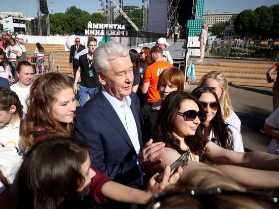 Москвичи голосуют «за»: Собянин выдвинул свою кандидатуру на пост мэра города