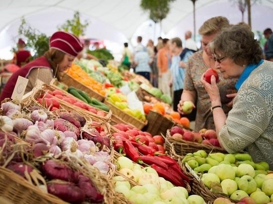 За полгода в Тверской области провели 810 продовольственных ярмарок