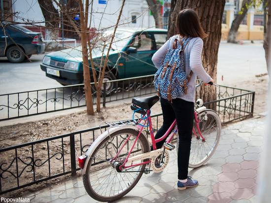 В Астрахани прошел очередной велопарад