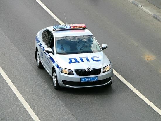 В Курчатове гонщика-спринтера ловили 3 экипажа полиции