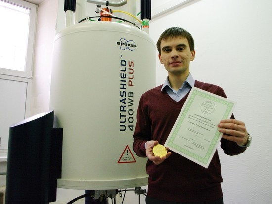 Житель Новосибирска получил европейскую премию для молодых ученых