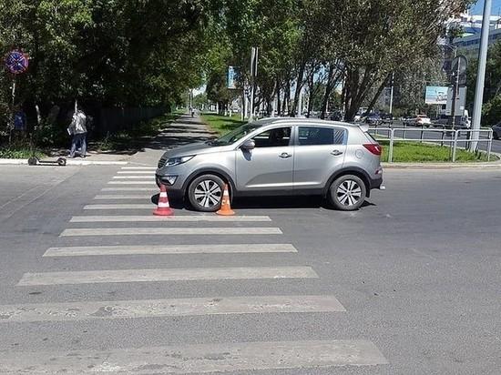 Водитель иномарки сбил мужчину на электросамокате в Самаре