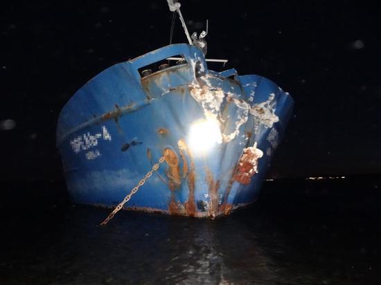 На Волге под Сызранью судно с зерном врезалось в берег из-за уснувшего за штурвалом старпома