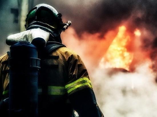 В Шигонском районе при пожаре в частном доме погибли два человека