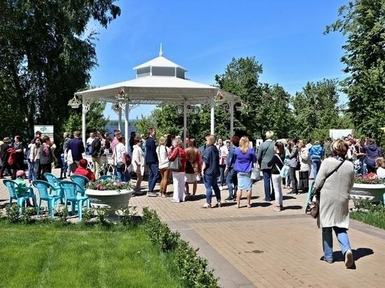В Самаре в обновленном Струковском саду прошел Фестиваль прессы