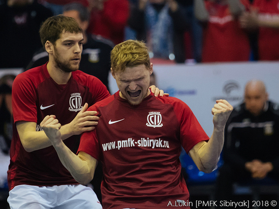 Футболисты «Сибиряка» получили путевку в Лигу Чемпионов