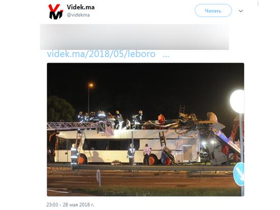 Автобусу с украинцами «срезало» второй этаж в Венгрии, десятки пострадавших