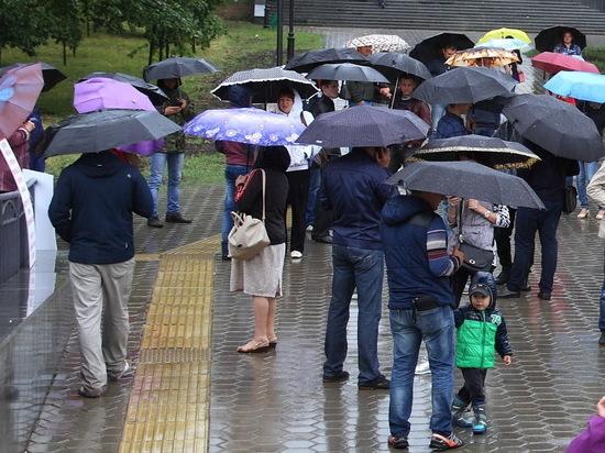 Небольшой дождь ожидается 30 мая в Мордовии