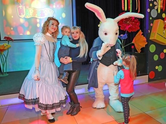 Благотворительный фонд «Забота» провел детский праздник