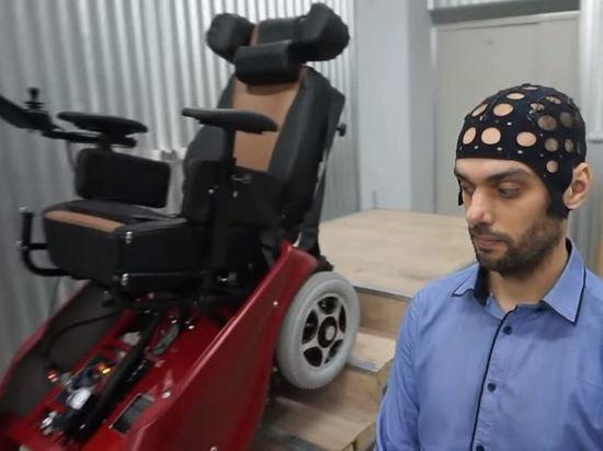 Новосибирец испытал инвалидную суперколяску
