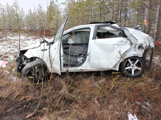 Водитель иномарки погиб в ДТП в Югре
