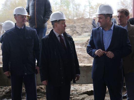 В Новосибирске строят перспективный транспортный узел
