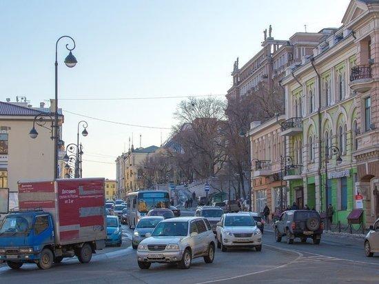 Внушительные пробки ждут автомобилистов во Владивостоке