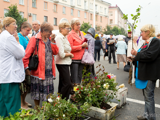 ВКемерове наплощади Советов пройдёт садоводческая ярмарка