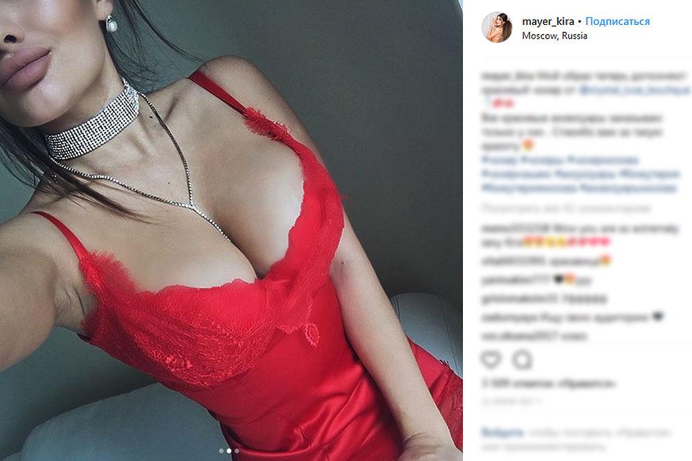 Модель, предложившую полицейским секс-взятку, арестовали: фото Киры Майер