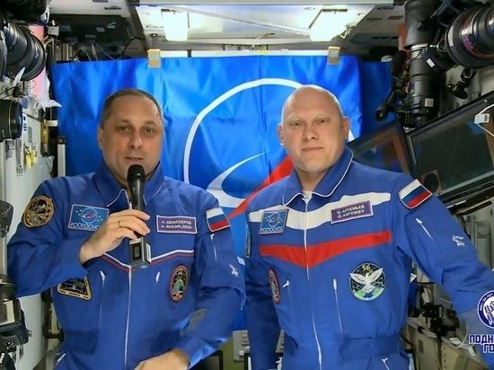 Российские космонавты передали привет участникам СЭФ-2018
