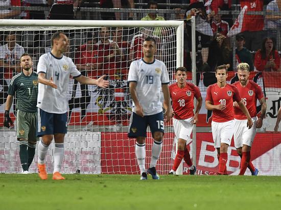 Мостовой назвал причину поражения сборной России в Австрии