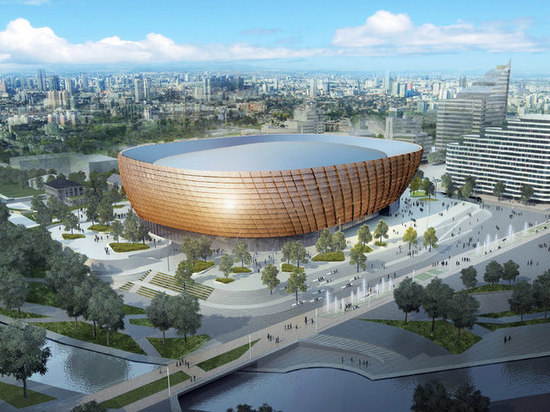 Совет при Куйвашеве согласовал с замечаниями проект ледовой арены УГМК