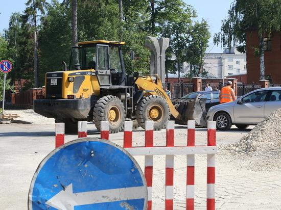 За невосстановленные дороги в Саранске рублем наказали генподрядчика