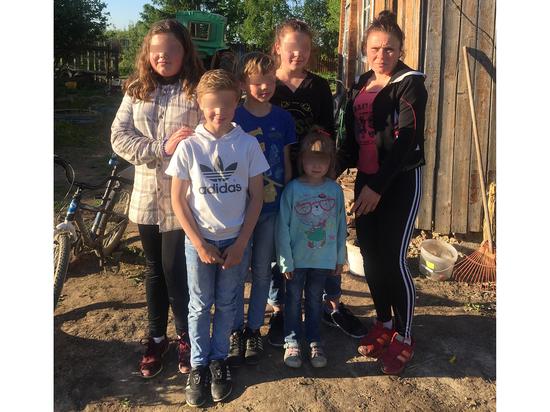 Шестеро детей с Украины попали в России в дикую ситуацию