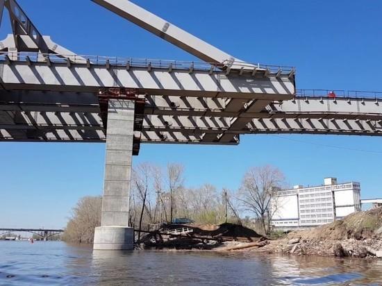 В Самаре приступили к 8 этапу надвижки пролета Фрунзенского моста