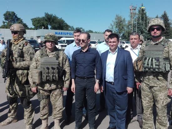 Зона активного отдыха: глава МИД Германии посетил линию соприкосновения с ДНР