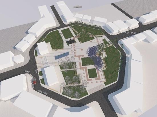 В Егорьевске вместо разрушенного храма решили восстановить его тень