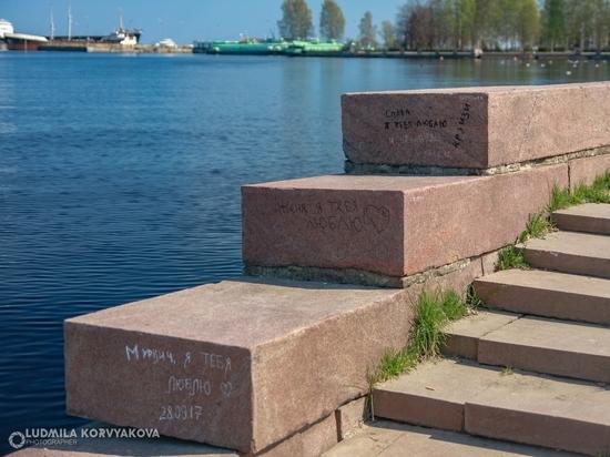 Ко Дню города обещают привести в порядок набережную Петрозаводска