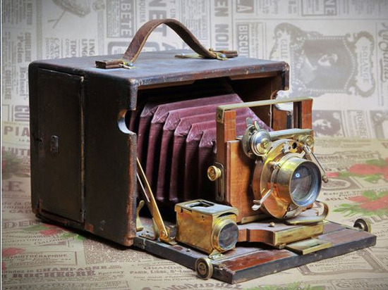 В Липецке открылась экспозиция ретро-фотоаппаратов