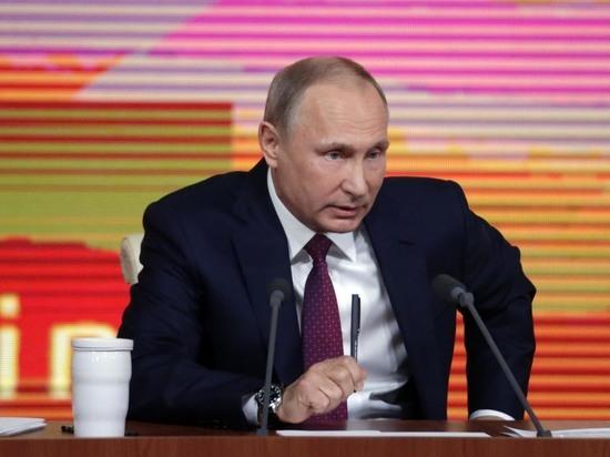 К Путину перед «прямой линией» обратились больше 500 тысяч человек