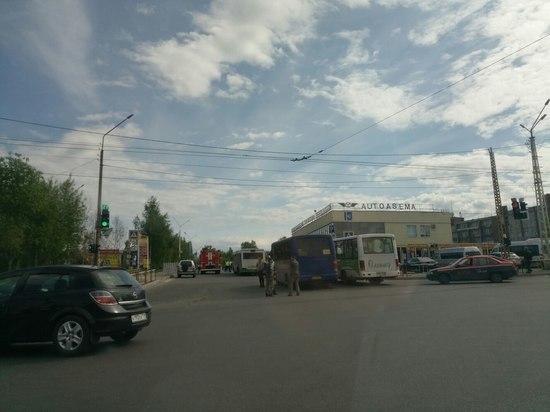 В Петрозаводске оцеплен автовокзал