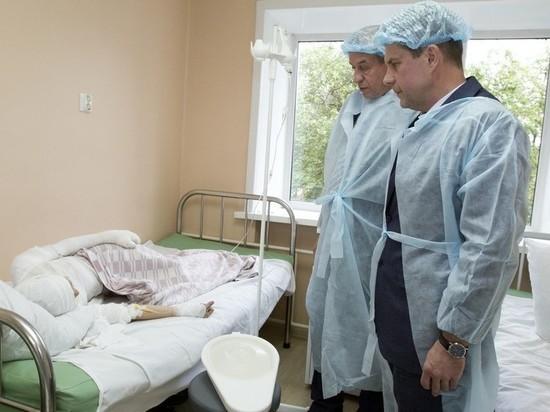 Состояние детей, получивших ожоги в ТРЦ «Комсомолл», медики оценивают как стабильное