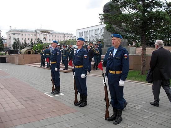 Жителям Бурятии впервые представили армию как услугу
