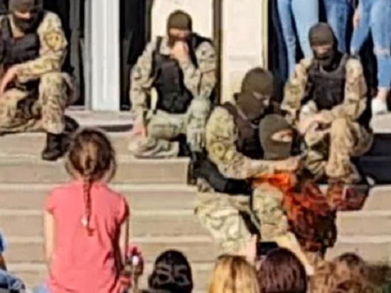 Украинский спецназовец
