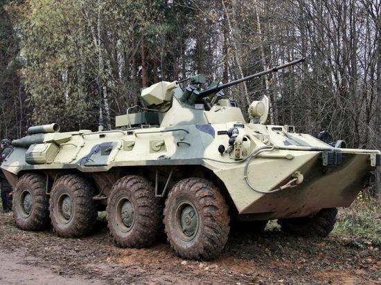 В Астрахань прибыли 32 новых БТР-82А