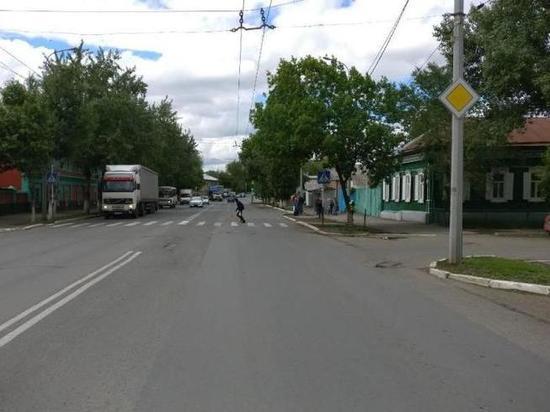 В Оренбурге автоледи сбила на «зебре» студентку