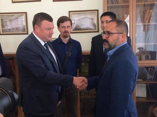 В Тамбовскую область с рабочим визитом прибыла делегация из Турции