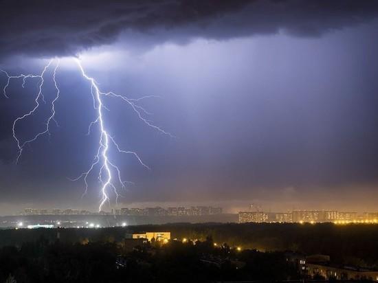Грозовое предупреждение в Костроме продлили на сутки