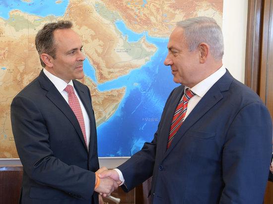 Губернатор штата Кентукки Мэтт Бевин прибыл в Израиль