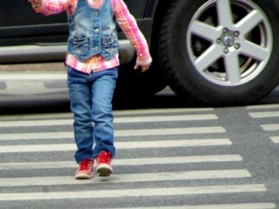 Водитель «Лады Гранты» сбил трехлетнюю девочку на пешеходном переходе
