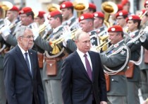 Путин сделал толстый намек всей Европе визитом в Австрию