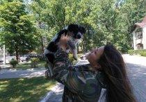 В Калининграде нашли хозяев щенку, которого заперли в камере хранения супермаркета