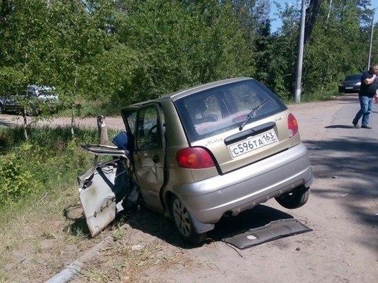 В Тольятти в аварии пострадали трое взрослых и ребенок