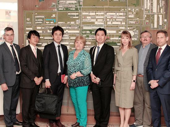 Японская компания заинтересовалась продукцией «Химпрома»