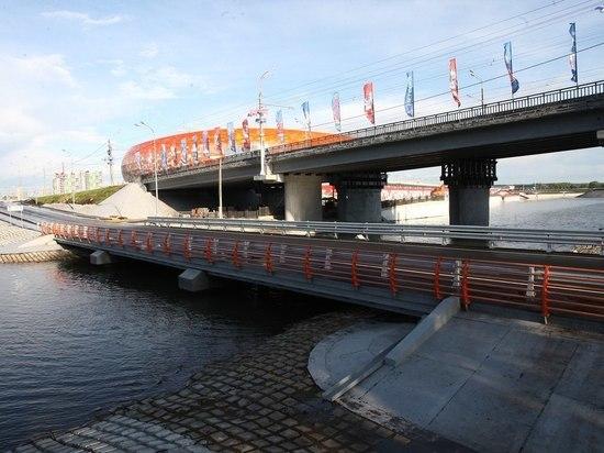 В Саранске открыли мост через Инсар за 58 миллионов рублей