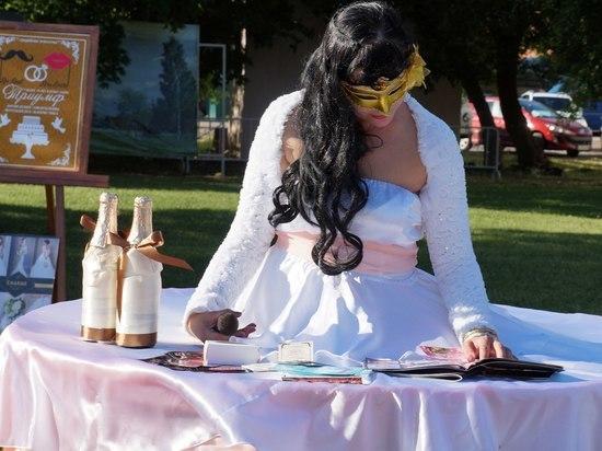 На Дне города тамбовчане смогут забронировать дату свадьбы