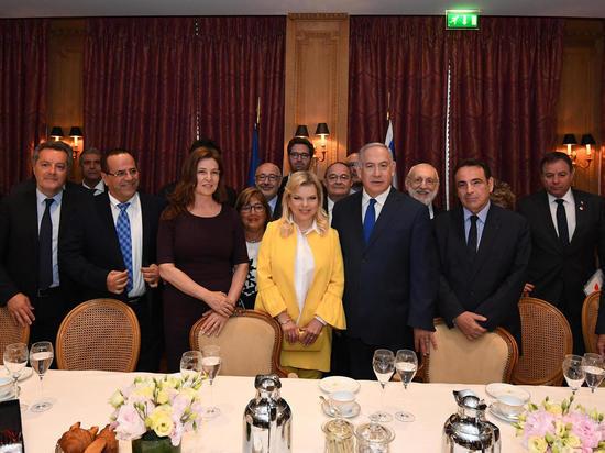 Биньямин Нетаниягу встретился с главами еврейских общин Франции